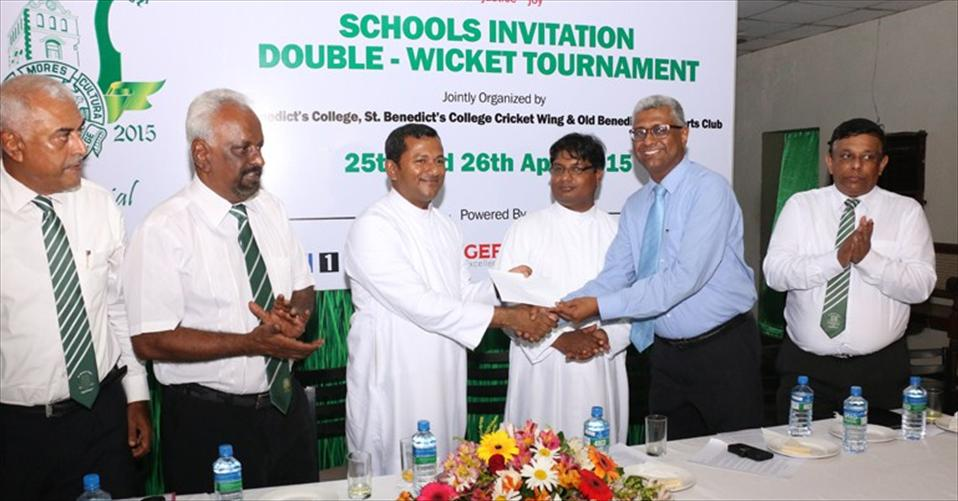 Inter schools Under 19 Double-Wicket tournament